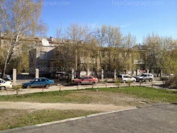 View to: Moskovskaya street, 42; Moskovskaya street, 44. Yekaterinburg (Sverdlovskaya oblast)