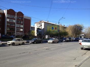На фото видно: Гурзуфская улица, 5; Гурзуфская улица, 9; Гурзуфская улица, 9А. Екатеринбург (Свердловская область)