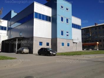 View to: Khrustalnaya street, 35а; Khrustalnaya street, 37. Yekaterinburg (Sverdlovskaya oblast)