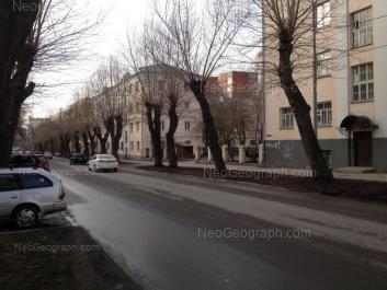 View to: Cheluskintsev street, 60. Yekaterinburg (Sverdlovskaya oblast)
