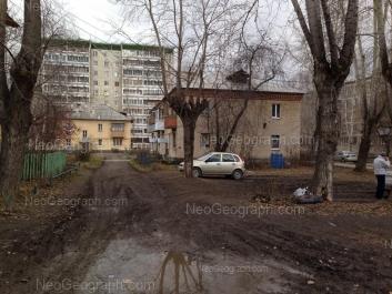 View to: Beloyarskaya street, 10; Beloyarskaya street, 17; Khvoinaya street, 73. Yekaterinburg (Sverdlovskaya oblast)