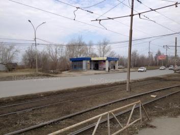 View to: Astrahanskaya street, 1. Yekaterinburg (Sverdlovskaya oblast)