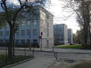 View to: Lenina avenue, 72; Gagarina street, 33; Mira street, 28 (Химико-технологический институт и институт материаловедения и металлургии УрФУ). Yekaterinburg (Sverdlovskaya oblast)