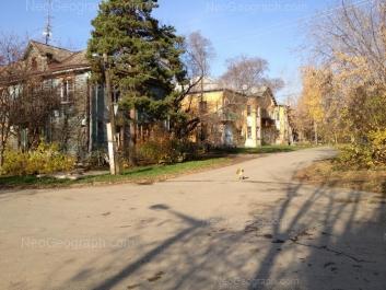 View to: Zaporozhskiy lane, 11; Samarkandskaya street, 17. Yekaterinburg (Sverdlovskaya oblast)