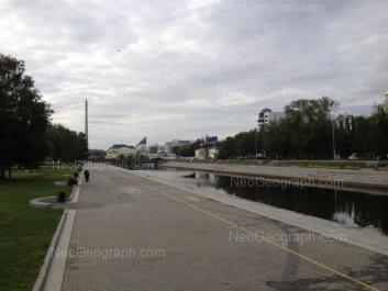 На фото видно: Воеводина улица, 5 (Музей изобразительных искусств). Екатеринбург (Свердловская область)