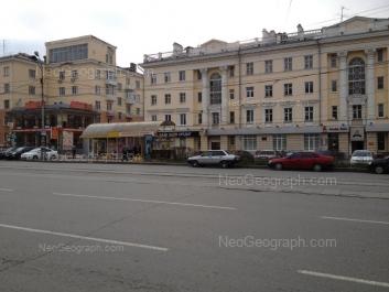 View to: Lenina avenue, 60; Lenina avenue, 62/2; Lenina avenue, 62/1. Yekaterinburg (Sverdlovskaya oblast)