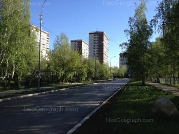 View to: Reshetnikova driveway, 12; Reshetnikova driveway, 14; Reshetnikova driveway, 16. Yekaterinburg (Sverdlovskaya oblast)