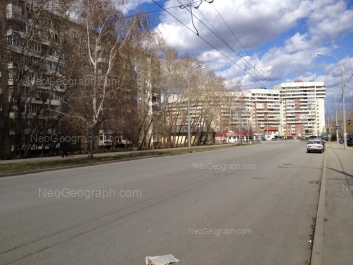 View to: Sovetskaya street, 55; Sulimova street, 6; Sulimova street, 7Б. Yekaterinburg (Sverdlovskaya oblast)