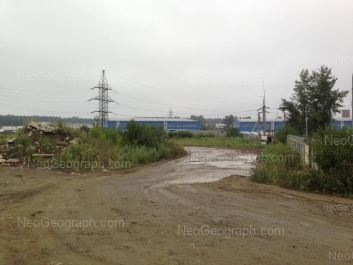 View to: Sovkhoznaya street, 18. Yekaterinburg (Sverdlovskaya oblast)