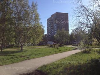 На фото видно: Академика Бардина улица, 48; Академика Бардина улица, 50. Екатеринбург (Свердловская область)