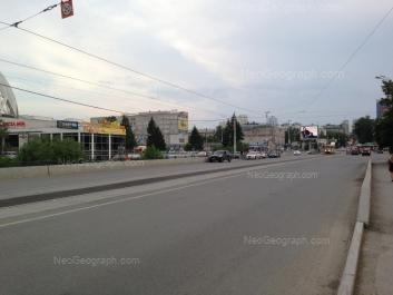 View to: 8 Marta street, 43А; 8 Marta street, 62 (УрГЭУ). Yekaterinburg (Sverdlovskaya oblast)