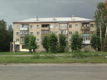 View to: Agronomicheskaya street, 12. Yekaterinburg (Sverdlovskaya oblast)