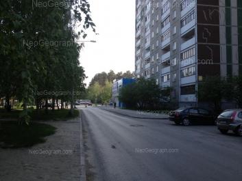 На фото видно: Академика Бардина улица, 25/2. Екатеринбург (Свердловская область)
