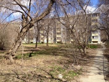 View to: Komsomolskaya street, 6Г. Yekaterinburg (Sverdlovskaya oblast)
