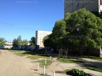 View to: Chkalova street, 135; Chkalova street, 137; Chkalova street, 139. Yekaterinburg (Sverdlovskaya oblast)