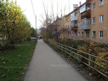 View to: Ispitateley street, 11; Ispitateley street, 12. Yekaterinburg (Sverdlovskaya oblast)