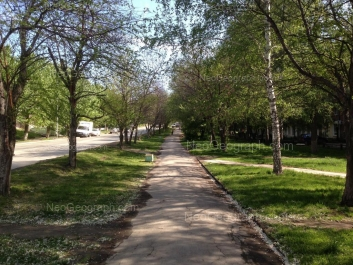 View to: Bisertskaya street, 4. Yekaterinburg (Sverdlovskaya oblast)