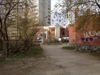 View to: Yasnaya street, 22Б. Yekaterinburg (Sverdlovskaya oblast)