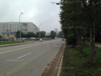 На фото видно: Шефская улица, 96. Екатеринбург (Свердловская область)