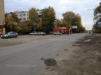 View to: Krilova street, 26 (Частный детский сад, Семицветик); Melnikova street, 19; Nagornaya street, 11. Yekaterinburg (Sverdlovskaya oblast)