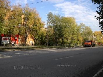 View to: Tekhnicheskaya street, 42; Tekhnicheskaya street, 44; Tekhnicheskaya street, 46; Tekhnicheskaya street, 48. Yekaterinburg (Sverdlovskaya oblast)