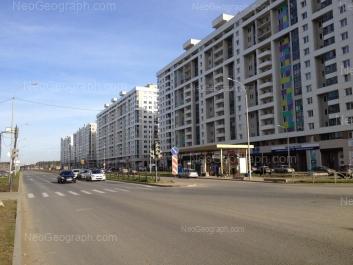 View to: Vilgelma de Gennina street, 31; Vilgelma de Gennina street, 33; Vilgelma de Gennina street, 37; Vilgelma de Gennina street, 45. Yekaterinburg (Sverdlovskaya oblast)