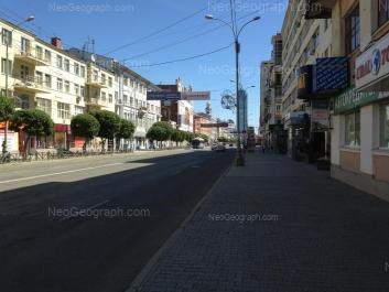 На фото видно: Малышева улица, 25; Малышева улица, 27; Малышева улица, 28. Екатеринбург (Свердловская область)