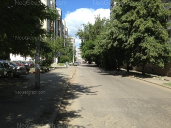 View to: Industrii street, 28; Kalinina street, 36. Yekaterinburg (Sverdlovskaya oblast)