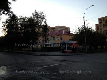 View to: Ispanskikh rabochikh street, 27; Melkovskiy lane, 4 (Детский сад №393). Yekaterinburg (Sverdlovskaya oblast)