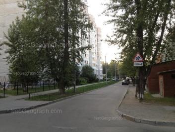 View to: Fonvizina street, 3; Fonvizina street, 5. Yekaterinburg (Sverdlovskaya oblast)
