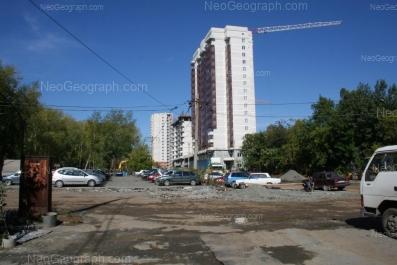 View to: Starikh Bolshevikov street, 1; Stachek street, 2; Stachek street, 6. Yekaterinburg (Sverdlovskaya oblast)