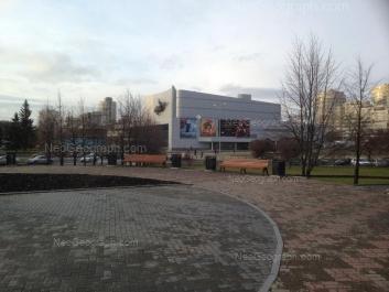 На фото видно: Дзержинского улица, 2 (ККТ Космос). Екатеринбург (Свердловская область)