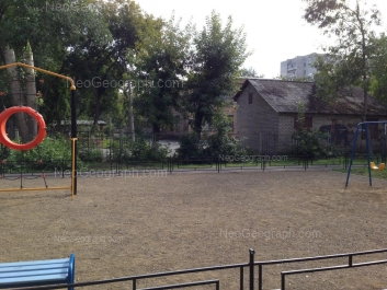 View to: Zavodskaya street, 17Б (Детский сад №466). Yekaterinburg (Sverdlovskaya oblast)