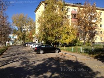 View to: Pobedi street, 12. Yekaterinburg (Sverdlovskaya oblast)