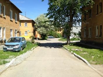 View to: Suvorovskiy lane, 14; Suvorovskiy lane, 16А; Suvorovskiy lane, 16; Chernigovskiy lane, 13. Yekaterinburg (Sverdlovskaya oblast)