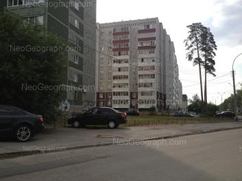 View to: Nachdiva Onufrieva street, 4; Serafimi Deriyabinoy street, 55/3. Yekaterinburg (Sverdlovskaya oblast)