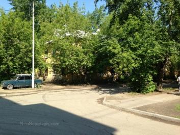 View to: Mendeleeva street, 27. Yekaterinburg (Sverdlovskaya oblast)