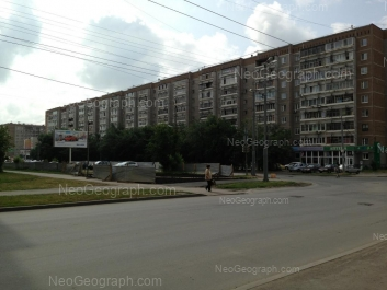 View to: Vosstaniya street, 89; Vosstaniya street, 91. Yekaterinburg (Sverdlovskaya oblast)
