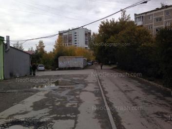 На фото видно: Викулова улица, 43 к3; Викулова улица, 43 к1. Екатеринбург (Свердловская область)