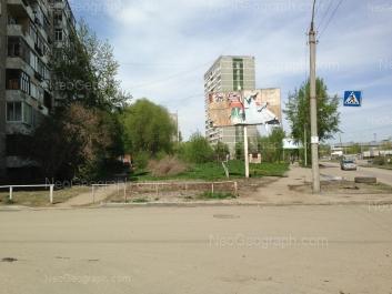 View to: Avtomagistralnaya street, 3; Avtomagistralnaya street, 9. Yekaterinburg (Sverdlovskaya oblast)