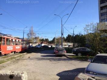 На фото видно: Гурзуфская улица, 38. Екатеринбург (Свердловская область)