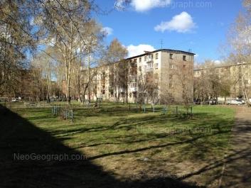 View to: Tekhnicheskaya street, 36; Tekhnicheskaya street, 38; Tekhnicheskaya street, 40. Yekaterinburg (Sverdlovskaya oblast)
