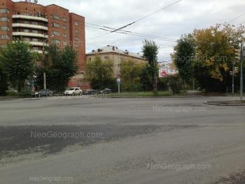 View to: Melnikova street, 50; Melnikova street, 52А. Yekaterinburg (Sverdlovskaya oblast)