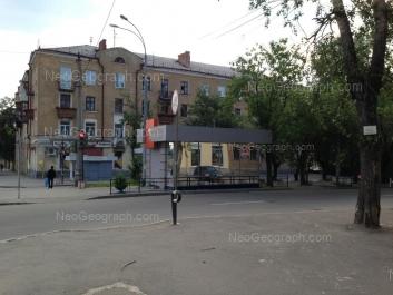 View to: Kirovgradskaya street, 70. Yekaterinburg (Sverdlovskaya oblast)