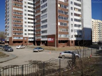 View to: Krupnosortschikov street, 6; Sophi Perovskoy street, 108; Sophi Perovskoy street, 110. Yekaterinburg (Sverdlovskaya oblast)