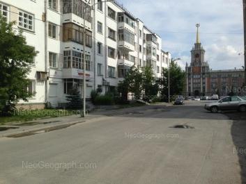View to: Lenina avenue, 24А (Администрация г. Екатеринбург); Volodarskogo lane, 2. Yekaterinburg (Sverdlovskaya oblast)