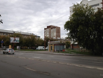 View to: 8 Marta street, 77; 8 Marta street, 86 (Центральная городская клиническая больница №6); 8 Marta street, 92; Bolshakova street, 95. Yekaterinburg (Sverdlovskaya oblast)