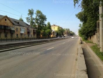 View to: Bakinskikh Komissarov street, 22; Bakinskikh Komissarov street, 30. Yekaterinburg (Sverdlovskaya oblast)