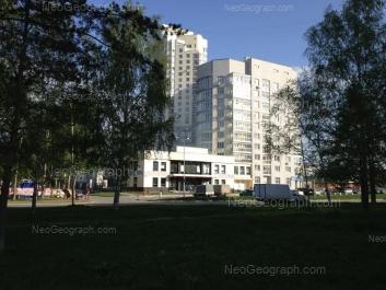 На фото видно: Чкалова улица, 124. Екатеринбург (Свердловская область)