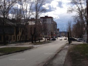 На фото видно: Клубный переулок, 7; Ватутина улица, 8; Техническая улица, 66; Техническая улица, 67. Екатеринбург (Свердловская область)